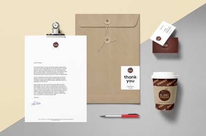 Blanc Cacao Corporate identity