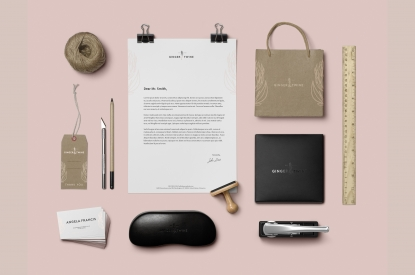 Ginger & Twine Corporate Identity